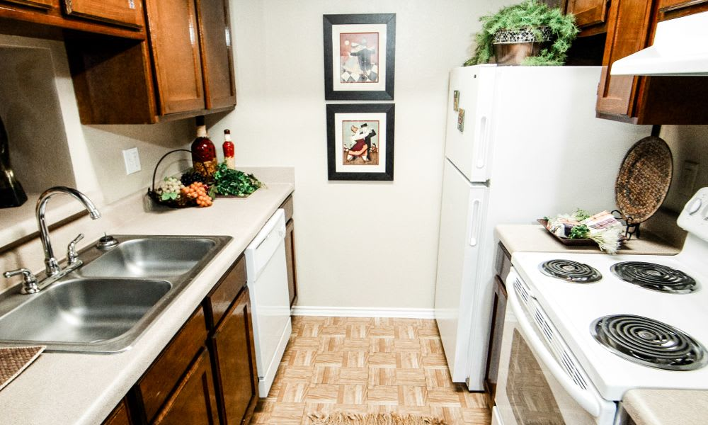 Kitchen at Surrey Oaks