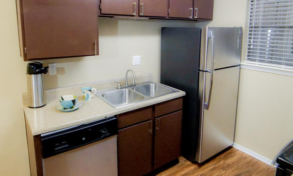 Kitchen Room at Savoy Apartments in Fort Worth