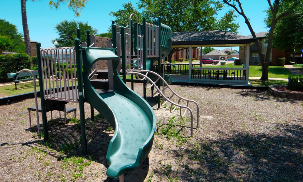 Playground at Savoy Apartments in Fort Worth
