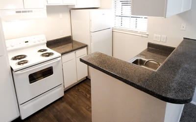 Kitchen at Cambury Place Apartments
