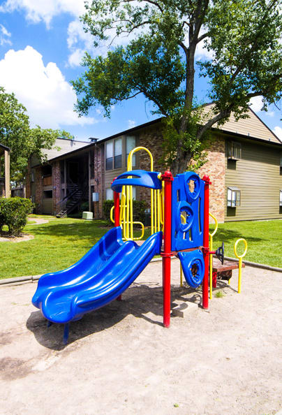 Living at Cambury Place Apartments includes a playground