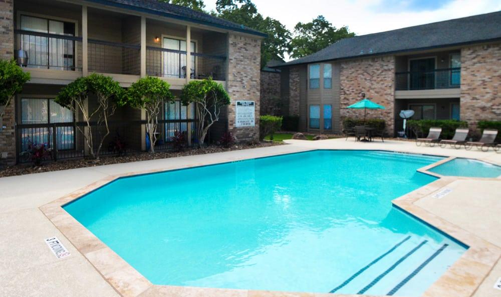 Sparkling pool at