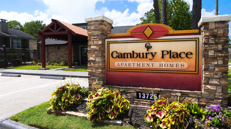 Welcome to Cambury Place Apartments in Houston, TX