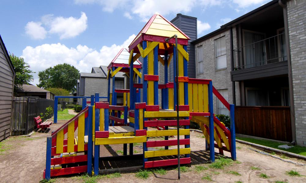 Sedona Square Apartments offers a playground in Houston, TX