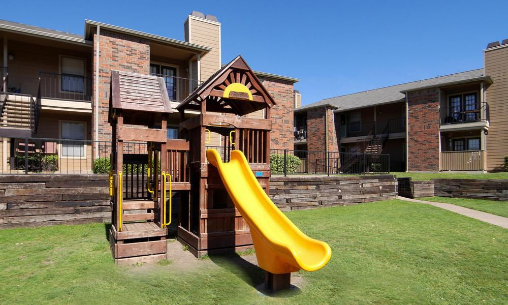 Our apartments in Fort Worth, TX have a playground that's great for kids