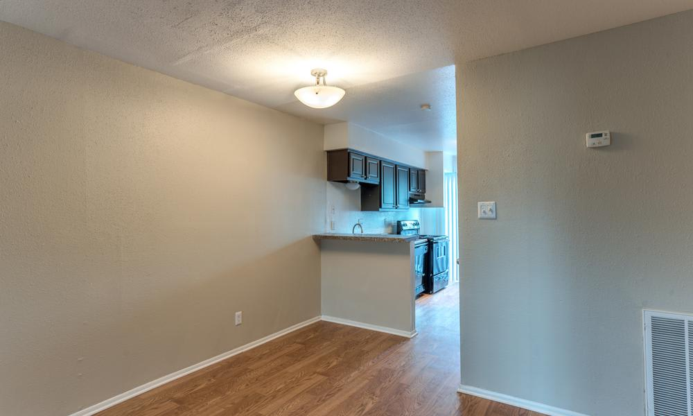 Apartment With Wood Style Flooring at The Bridge at Shady Hill in Baytown, TX