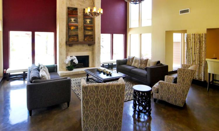 Tuscany Apartments offers a clubhouse in Fort Worth, TX