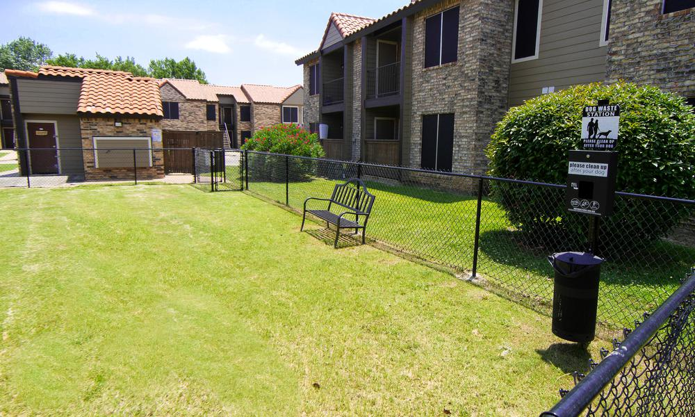 Verona Apartments offers a dog park in Fort Worth, TX