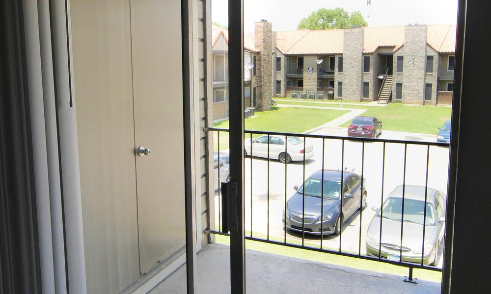 Verona Apartments in Fort Worth, TX offers apartments with a private balcony