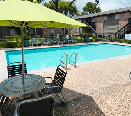 Our apartments in Houston, TX offer a swimming pool