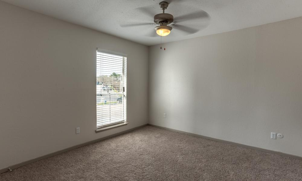 Empty Room With Window at Element Apartments in Houston, TX