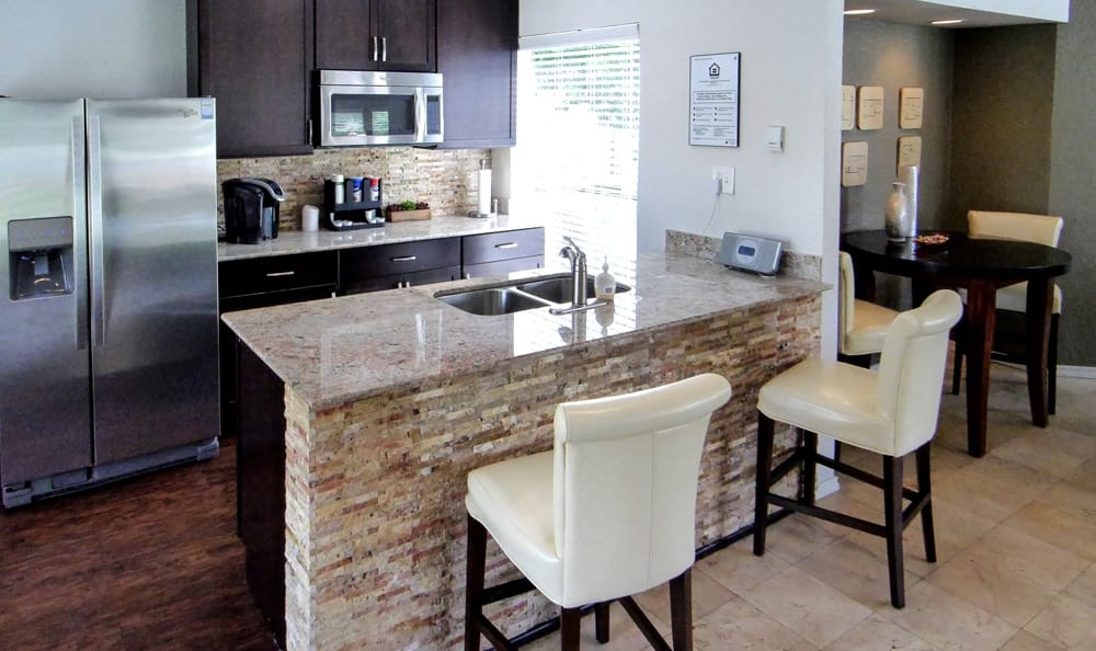 Kitchen at Magnolia Crossing in Fort Worth