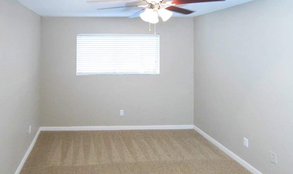 Spacious bedroom at apartments at Newport at Clear Lake