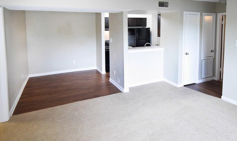 Interior at apartments in Houston
