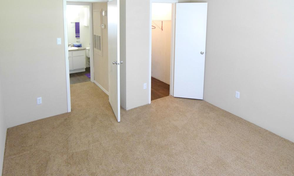 Our apartments in Alvin, TX showcase a spacious bedroom