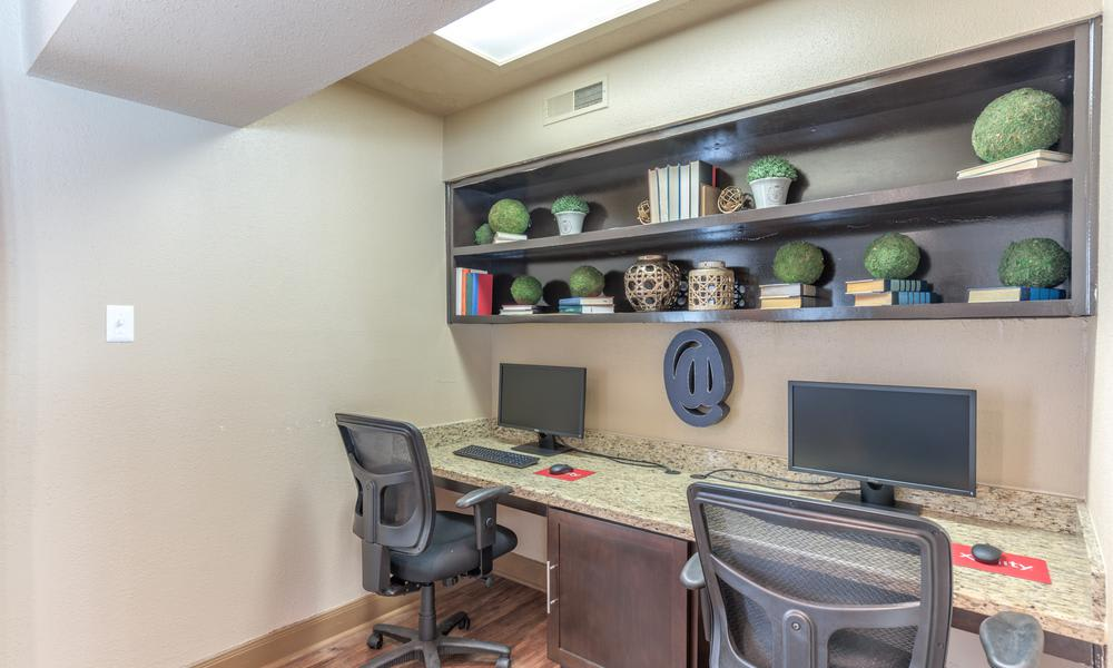 Business Center at Verano Apartments in Houston, TX