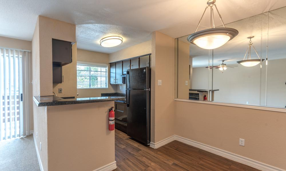 Kitchen Area at Verano Apartments in Houston, TX