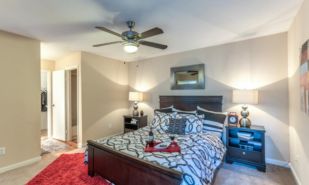 Master Bedroom at Verano Apartments in Houston, TX