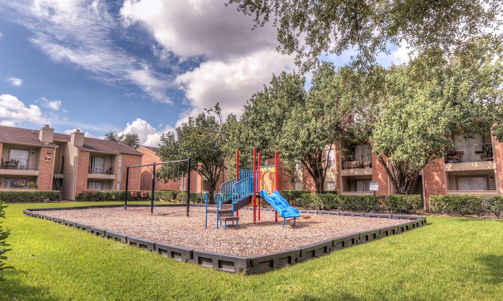 Playground at Verano Apartments in Houston, TX