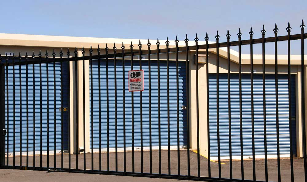 Northwest Crossing Self Storage offers gated access.