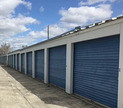 Storage Doors at A & A Self Storage Warner Robins