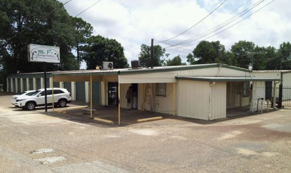 Exterior of the self storage facility at Mr. P's Storage Facility