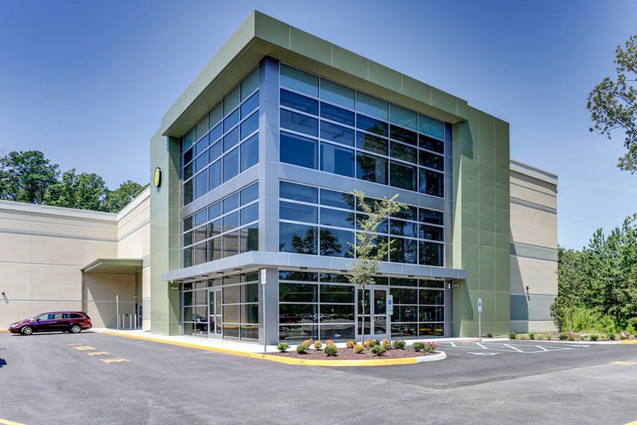 Exterior of our Newport News, VA facility