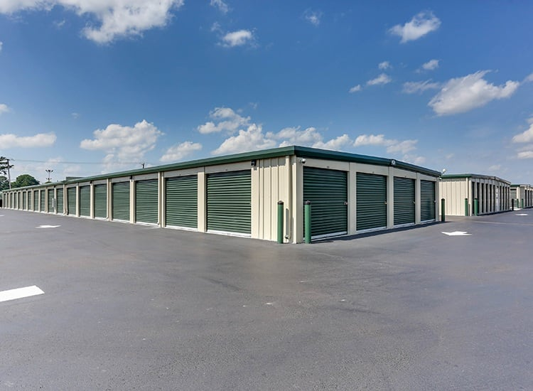 Variety of units at Self Storage in Portsmouth, Virginia