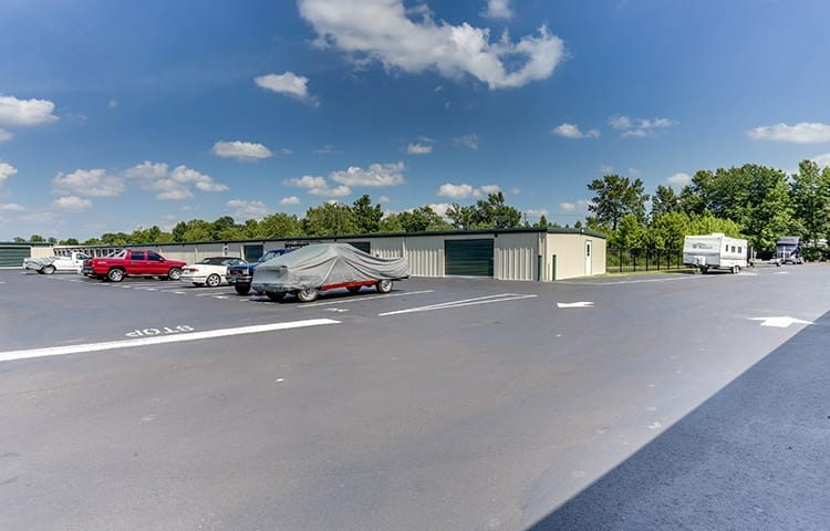 RV, Boat, and Auto storage at Happy Boxes Self Storage in Portsmouth, Virginia