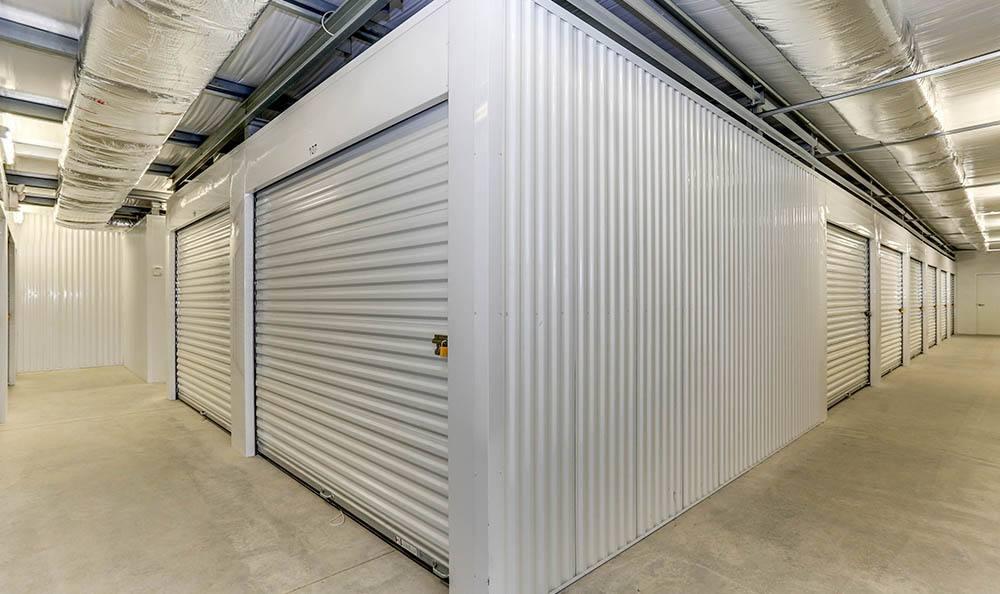 Wide Hallways At Self Storage In Portsmouth Virginia