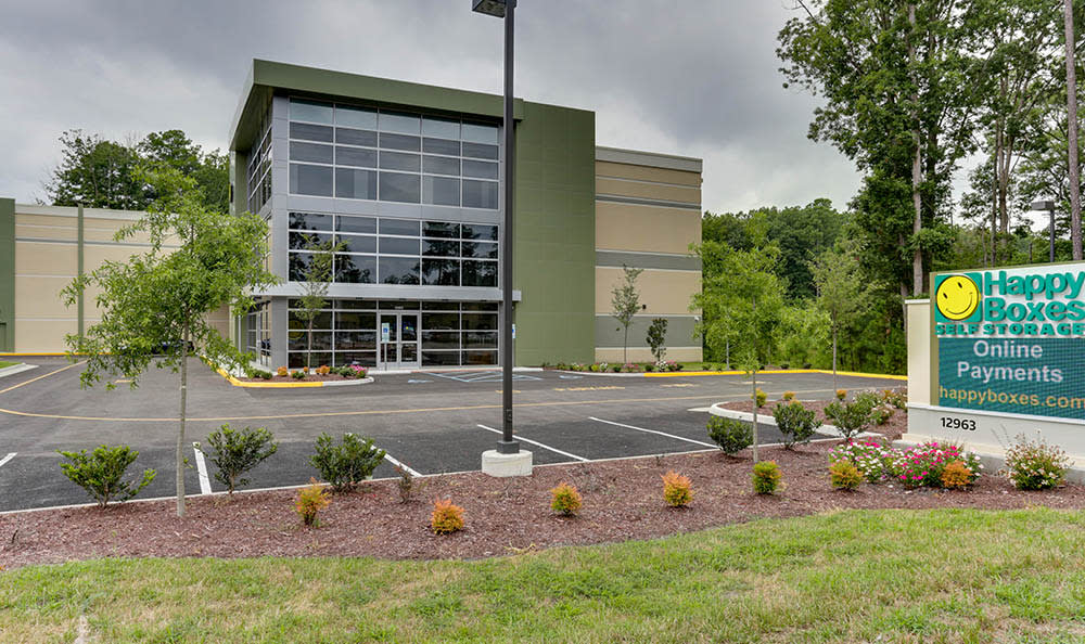 Exterior Of Self Storage In Newport News Virginia
