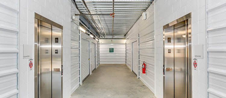 Elevators And Other Convenient Features at Happy Boxes Self Storage in Newport News, Virginia