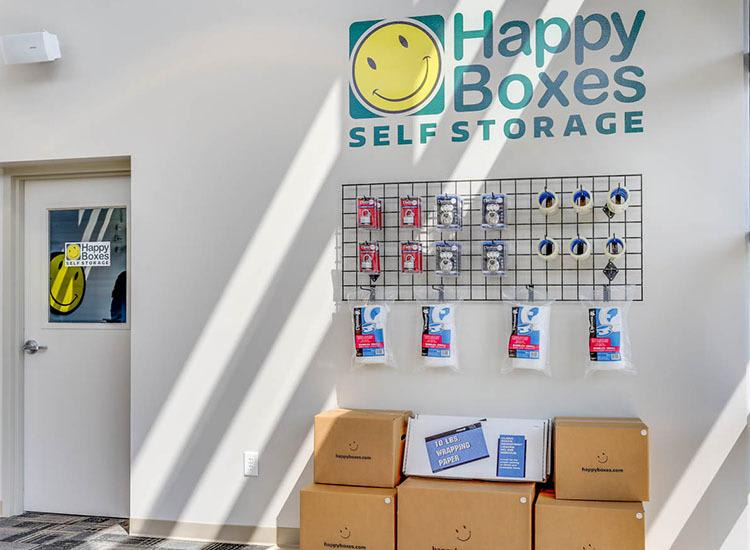 Moving supplies at Self Storage in Newport News, Virginia