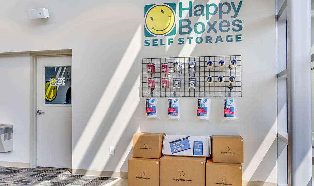 Storage Supplies At Self Storage In Newport News Virginia