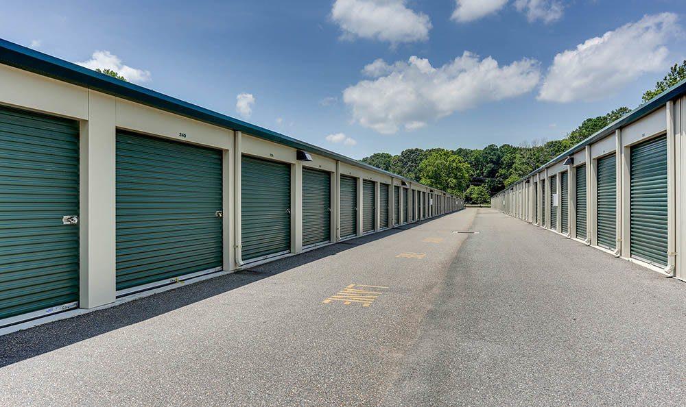 Exterior Units At Self Storage In Hampton Virginia