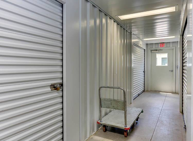 Moving carts at Self Storage in Hampton, Virginia