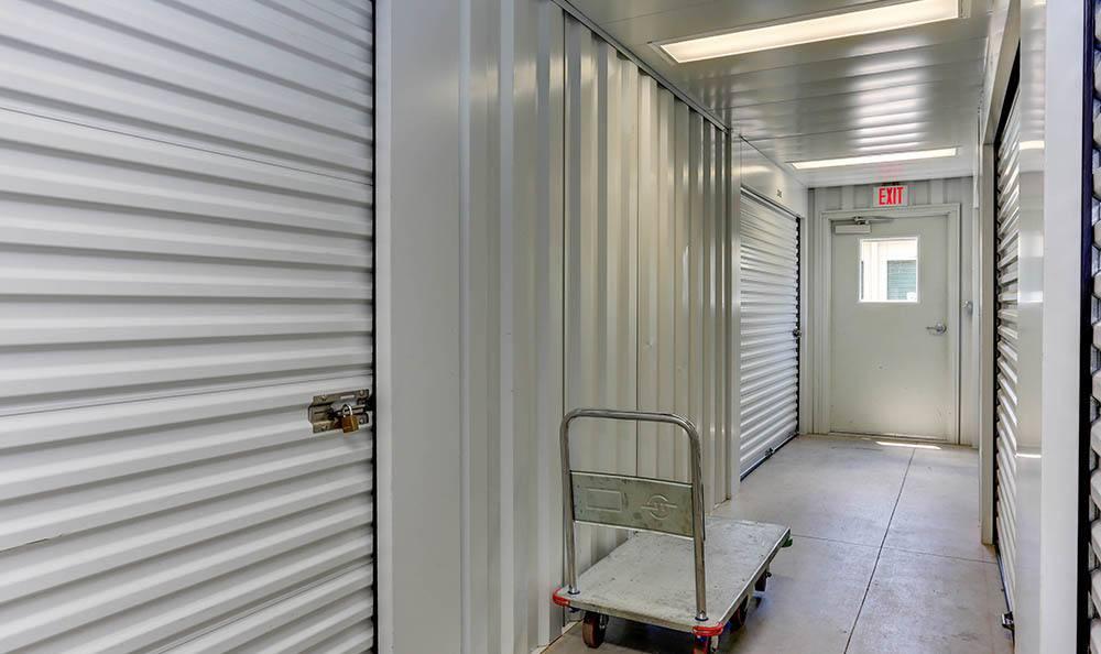 Moving Carts At Self Storage In Hampton Virginia