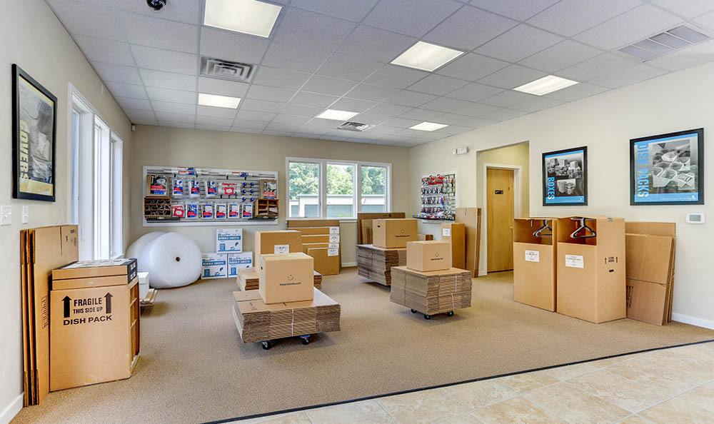 Moving Supplies At Self Storage In Hampton Virginia
