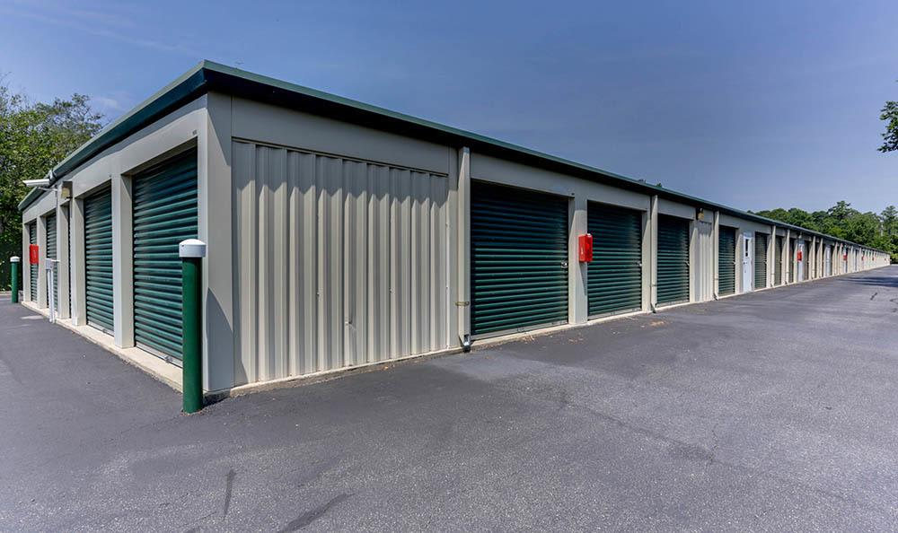 Exterior Units At Self Storage In Kitty Hawk North Carolina