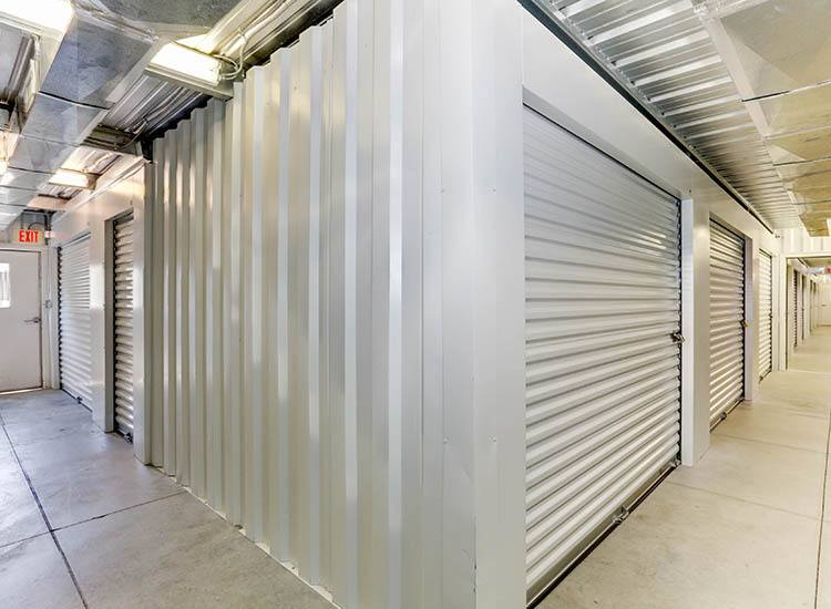 Wide hallways at Self Storage in Kitty Hawk, North Carolina