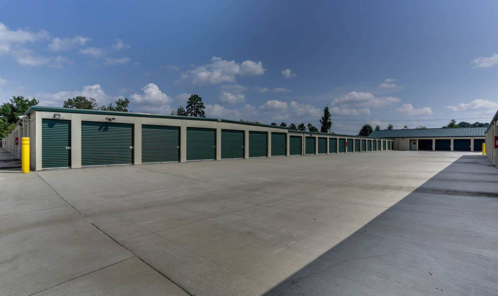 Exterior Units At Self Storage In Chester Virginia