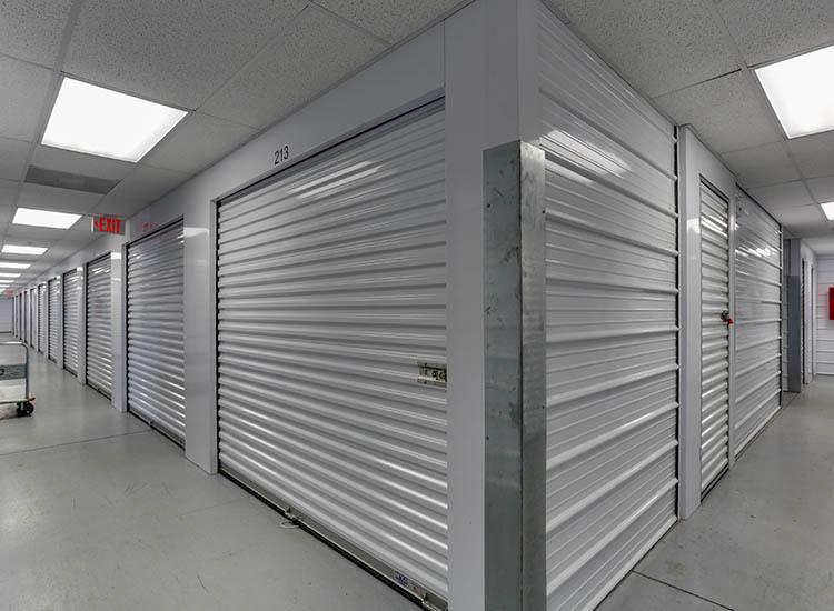Interior units at Self Storage in Chester, Virginia