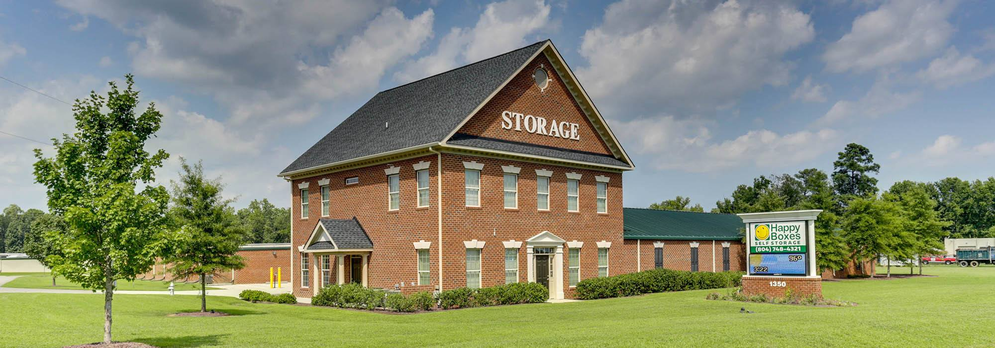 Self storage in Chester VA