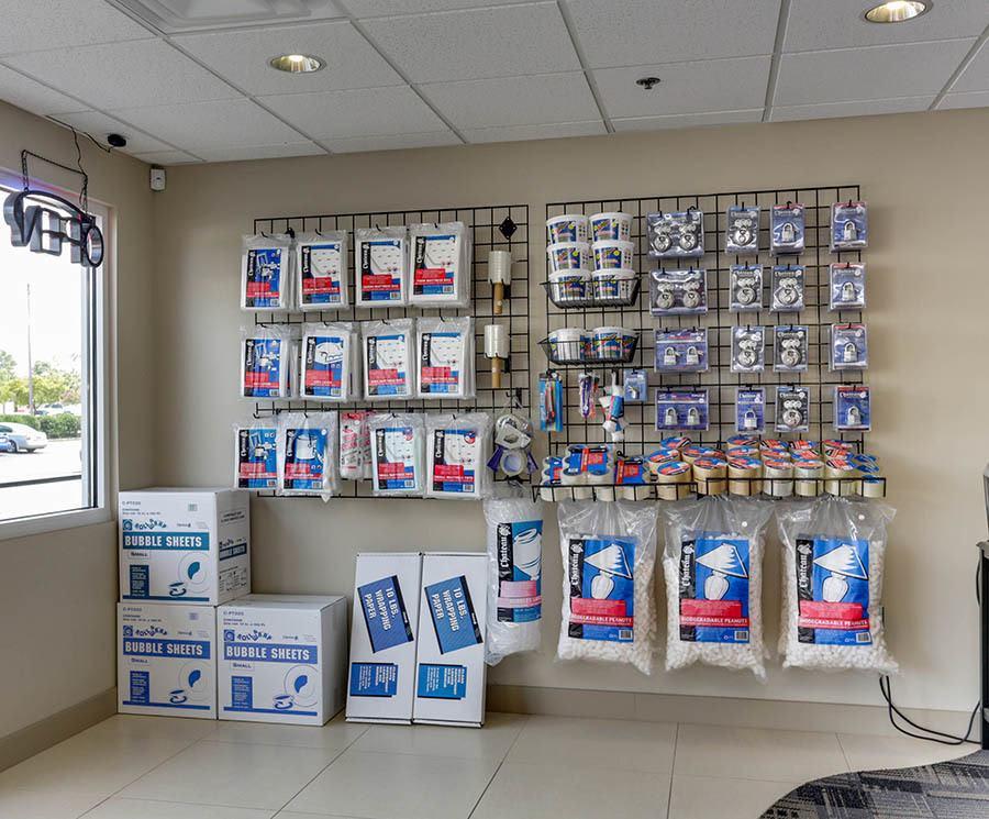 Storage Supplies at Self Storage in Richmond