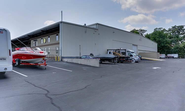 RV, Boat, & Auto Storage at Happy Boxes Self Storage in Richmond, Virginia