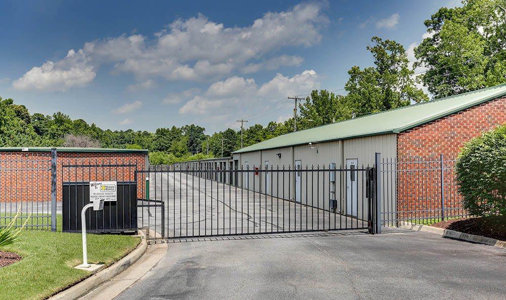 Access Gate At Self Storage In Chesapeake Virginia