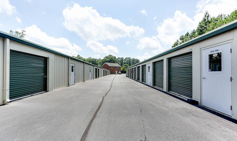 Exterior Units At Self Storage In Chesapeake Virginia