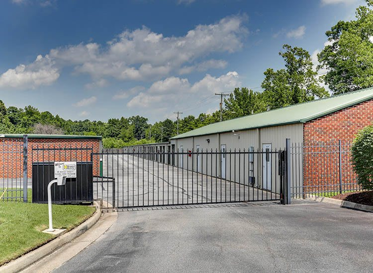 Access gate at Self Storage in Chesapeake, Virginia