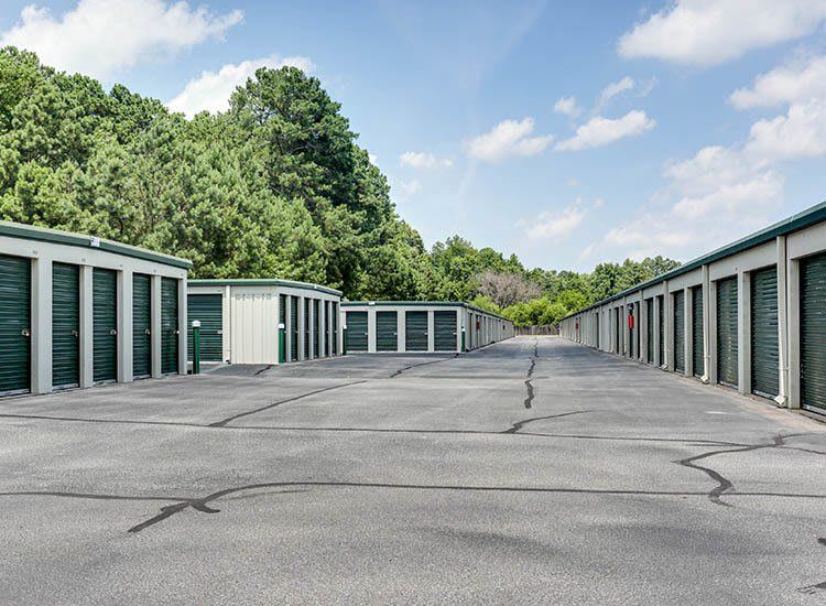 Exterior units Self Storage in Chesapeake, Virginia