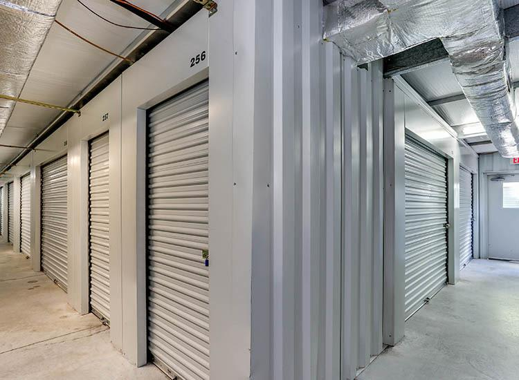 Interior units at Self Storage in Chesapeake, Virginia